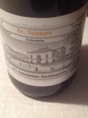 Dr deinhard deidesheim paradiesgarten wine info for Deinhard wine