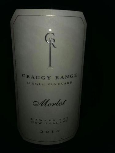Craggy Range Merlot Gimblett Gravels Vineyard 2008 Wine Info