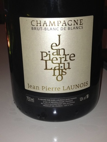 Jean pierre launois champagne brut blanc de blancs 2008 for Belle jardin blanc de blancs