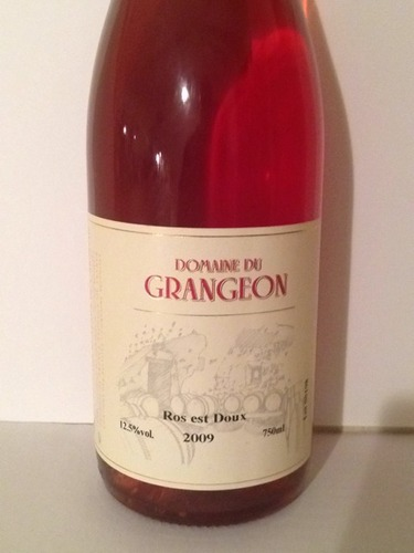 Grangeon rose 2014 wine info for Chambre red wine
