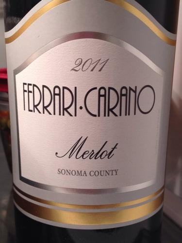 Ferrari Carano Merlot Wine Info
