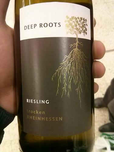 Deep Roots In Native Youth: Deep Roots Riesling Trocken