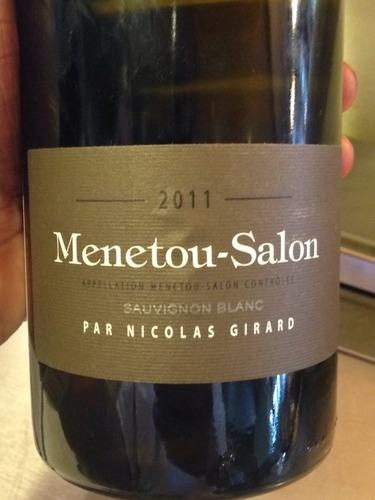 Nicolas girard menetou salon sauvignon blanc 2011 wine info - Assadet menetou salon ...