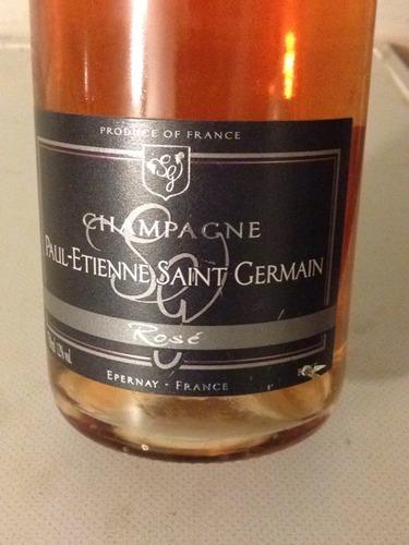 Paul etienne saint germain champagne ros nv wine info for Bar a champagne saint etienne