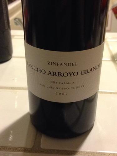 Rancho arroyo san luis obispo county zinfandel dry farmed for Rancho grande motors in san luis obispo