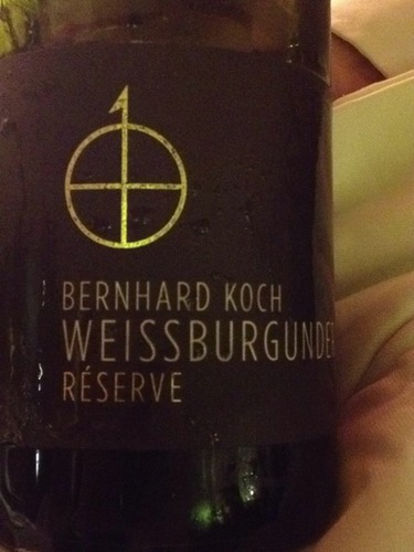 Bernhard koch reserve weissburgunder 2009 wine info for Koch 3 winde
