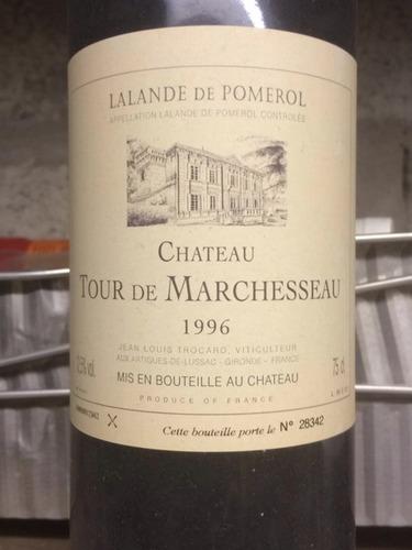 Chateau Tour de Marchesseau Lalande de Pomerol