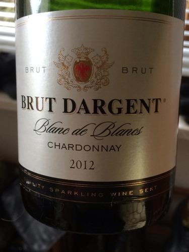 Brut dargent blanc de blancs brut 2012 wine info for Belle jardin blanc de blancs