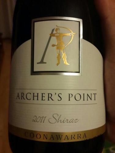 Archer's Point Shiraz 2011