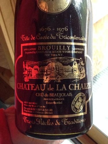 Ch teau de la chaize beaujolais brouilly red wine info for Brouilly chateau de la chaise