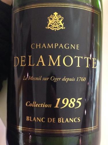 Delamotte champagne blanc de blancs brut mill sim 1985 for 1985 salon champagne