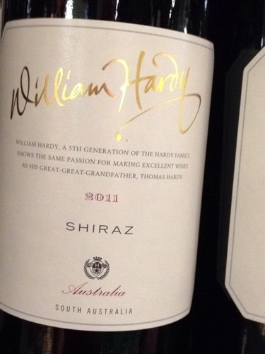 Hardys William Hardy Shiraz 2011