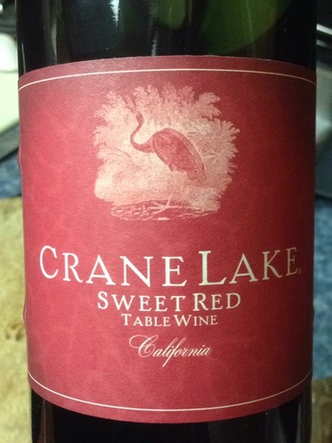 Crane Lake Sweet Red Table Wine Info