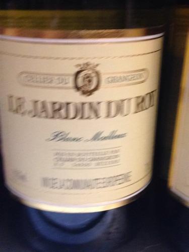 Grangeon le jardin du roy blanc moelleux nv wine info for Jardin du nil wine price
