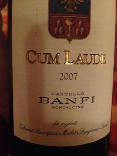 Banfi cum laude 2004
