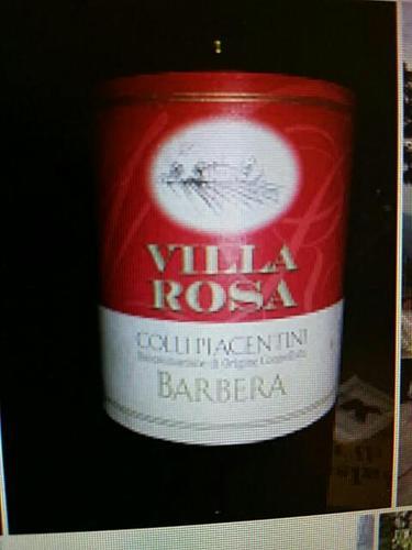 vitivinicola villa rosa barbera 2011 wine info. Black Bedroom Furniture Sets. Home Design Ideas