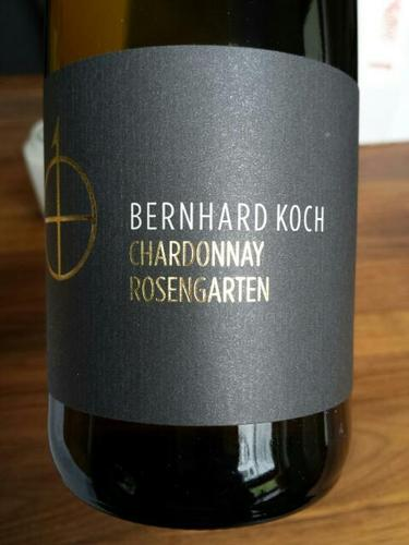 Bernhard koch rosengarten chardonnay wine info for Koch 3 winde