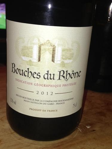 La compagnie rhodanienne bouches du rh ne 2012 wine info for Bouche rhone