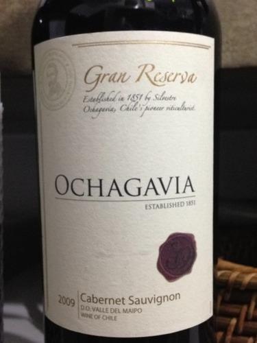 Kết quả hình ảnh cho vang chile ochagavia gran reserva cabernet sauvignon