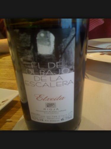 Etxeita el de debajo de la escalera rioja wine info for El de debajo de la escalera vino