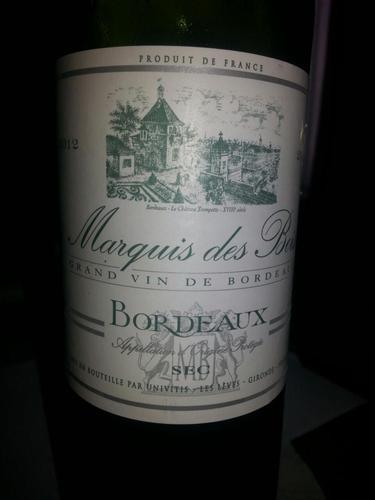 ch teau marquis des bois bordeaux sec 2012 wine info. Black Bedroom Furniture Sets. Home Design Ideas