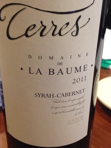 domaine de la baume syrah cabernet terres wine info. Black Bedroom Furniture Sets. Home Design Ideas