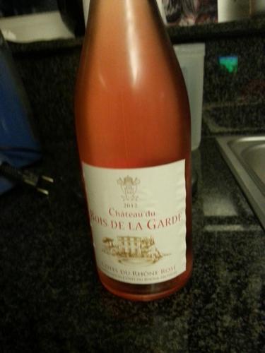 Mousset Barrot Ch u00e2teau du Bois de la Garde Rosé 2012 Wine Info # Chateau Du Bois De La Garde