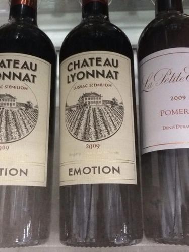 Ch teau lyonnat r serve de la famille lussac st milion for Chateau lyonnat