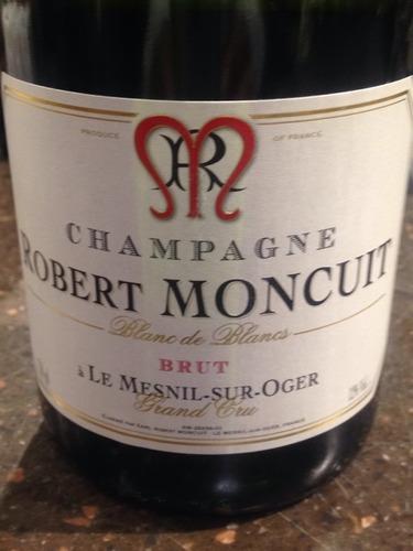 Robert moncuit champagne grand cru brut le mesnil sur oger blanc de blancs wine info for Salon blanc de blancs le mesnil sur oger