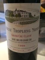 Château Troplong-Mondot Saint-Émilion Grand Cru Classé Grand Vin 1999