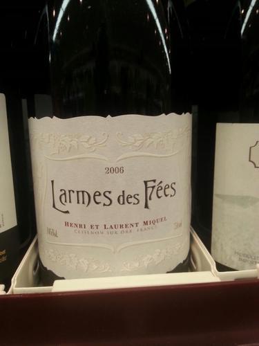 Kết quả hình ảnh cho laurent miquel larmes des fees saint chinian