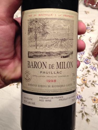 Baron de Milon Pauillac
