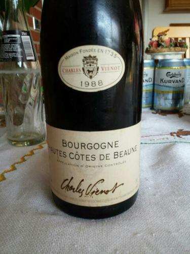 Charles vienot bourgogne hautes c tes de beaune wine info for Haute cote de beaune