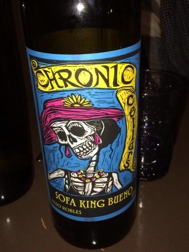 Chronic Sofa King Bueno 2008 Wine Info