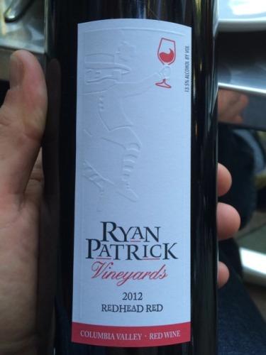 Redhead red wine