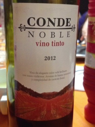Conde Noble Vino Tinto Wine Info
