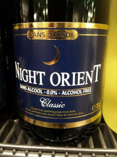 Night Orient Sans Alcool Classic  Wine In