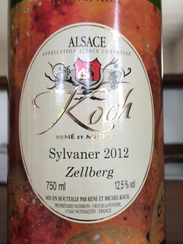 Ren koch fils zellberg sylvaner alsace 2008 wine info for Koch 3 winde