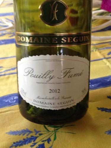 Seguin pouilly fum for Champagne seguin