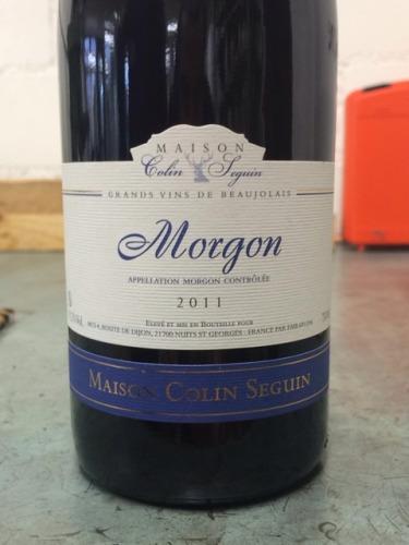 Maison colin seguin morgon 2012 wine info for Champagne seguin