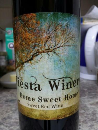 Fiesta Home Sweet Home Red Wine Info