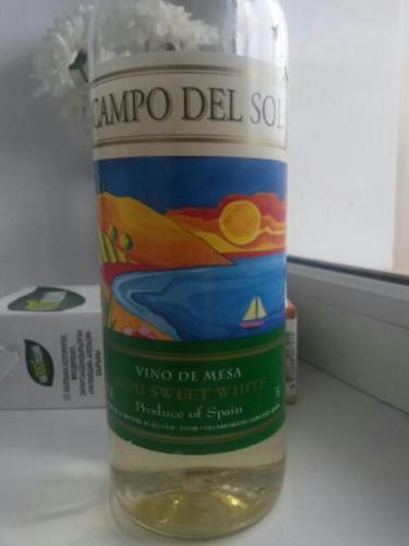 Campo del sol de mesa semi sweet white 2013 wine info - Mesas de campo ...