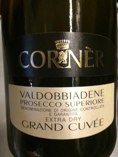 Terms Of Use >> Corner Valdobbiadene Grand Cuvée Superiore Prosecco | Wine ...