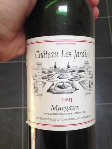 Ch teau les jardins margaux 2007 wine info for Grand jardin wine