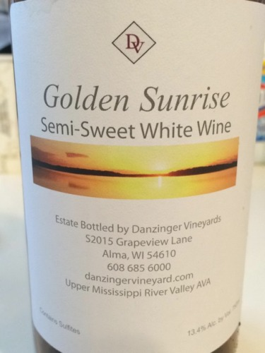 Danzinger Golden Sunrise Semi Sweet White Wine Info