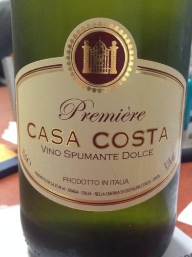 Casa Costa Premiere Vino Spumante Dolce