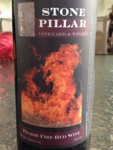 Red Fire Granite : Stone pillar prarie fire red wine info