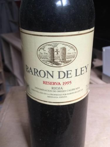 baron de ley rioja reserva 1995 wine info. Black Bedroom Furniture Sets. Home Design Ideas