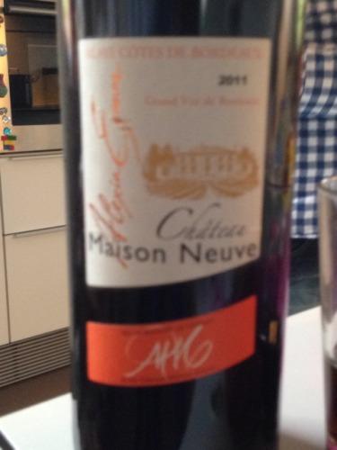 Ch teau maison neuve blaye cotes de bordeaux wine info for Maison neuve aquitaine