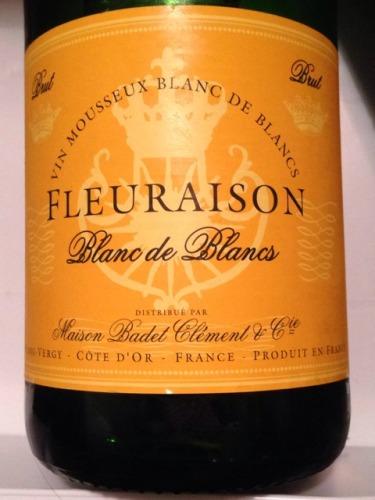 Badet clement blanc de blancs brut fleuraison wine info for Belle jardin blanc de blancs